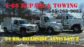 I-86 repair and Towing
